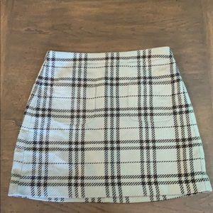Plaid J. Crew skirt